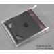 Bustine in PPL per Custodie  CD JEWEL CASE- Flap Adesivo - Q.ta 100