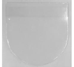 TEC - Bustine in PP adesive per CD DVD - Foglio con 4 Bustine (Qtà.1Foglio)