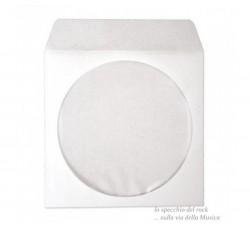MEDIARANGE - Bustine di carta per CD-DVD con Chiusura ad incastro (Q.tà 50)