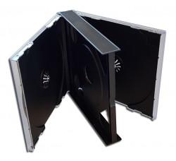 BOX COFANETTO - può alloggiare da (1) uno - (2) due CD-DVD - Q.ta 1 Pz