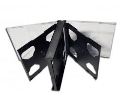 BOX COFANETTO - può alloggiare da (1) uno - (6) sei CD-DVD  - Q.ta 1