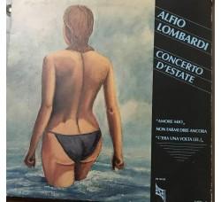 Alfio Lombardi – Concerto D'Estate -   LP/Vinile