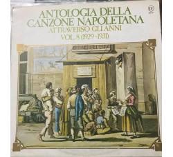 Antologia della Canzone Napoletana - Vol 8  –  LP/Vinile