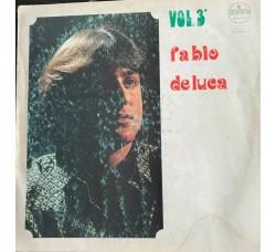 FABIO DE LUCA - VOL 3    - LP/Vinile