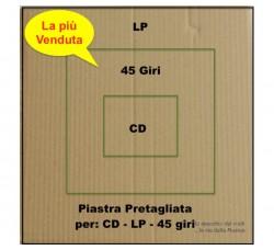 PIASTRA di Cartone per RINFORZO spedizione LP - 45 Giri - CD