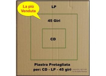 PIASTRA di Cartone KRAFT  per spedizione LP - 45 Giri - CD