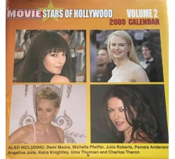 JULIA ROBERTS - PAMELA ANDERSON - ANGELINA JOLIE  - HOLLYWOOD   - Calendario da collezione 2009