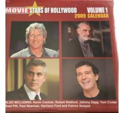 GEORGE CLOONEY - JONNY DEPP - HOLLYWOOD   - Calendario da collezione 2009