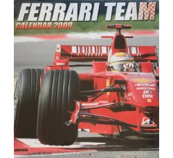 FERRARI  - Calendario  da collezione 2009  - Contiene Poster
