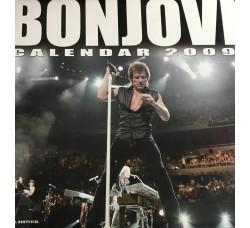 Bon Jovi - Calendario  da collezione 2009  - Contiene Poster