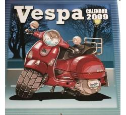 VESPA  - Calendario UFFICIALE da collezione 2009   - Contiene Poster