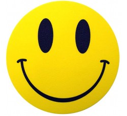 SLIPMAT-FACTOR - Tappetino Slipmat  per GIRADISCHI Smiley  - Qta 1°