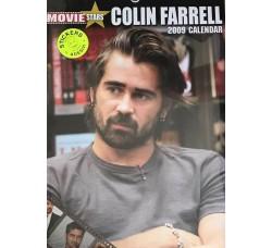 COLIN FARRELL - Calendario  2009 - Contiene 12 STICKERS