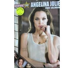 ANGELINA JOLIE   - Calendario  2009 - Contiene 12 STICKERS