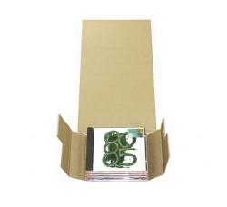SCATOLA  di CARTONE per spedire (1)  CD formato JEWEL CASE