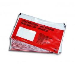 .Tasche Adesive Porta Documenti  per spedizioni - Qtà 50
