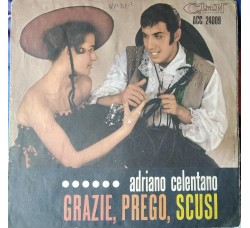 Adriano Celentano - Grazie,prego,scusi  - Sole copertine