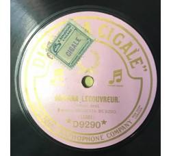 Adriana Lecovreur - poveri fiori  - 78 RPM