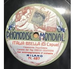 Italia Bbella - Diego Giannini - 78 RPM