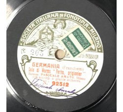 Germania - Franchetti - 78 RPM