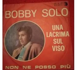 Bobby Solo - Una lacrima sul viso - Non ne posso più  - Sole copertine