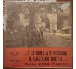 Enzo Parise - E la sorella di Rossana il calzolaio dritto - Solo copertine