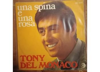 Tony Del Monaco - Una spina e una rosa - Solo copertine