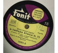 Alberto Semprini-La fantasia ritmica N.72 78 RPM