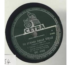 Maestro Tito Petralia-Tu scendi dalle stelle 78 RPM