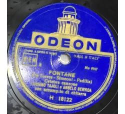 Luciano Tajoli-Fontane 78 RPM
