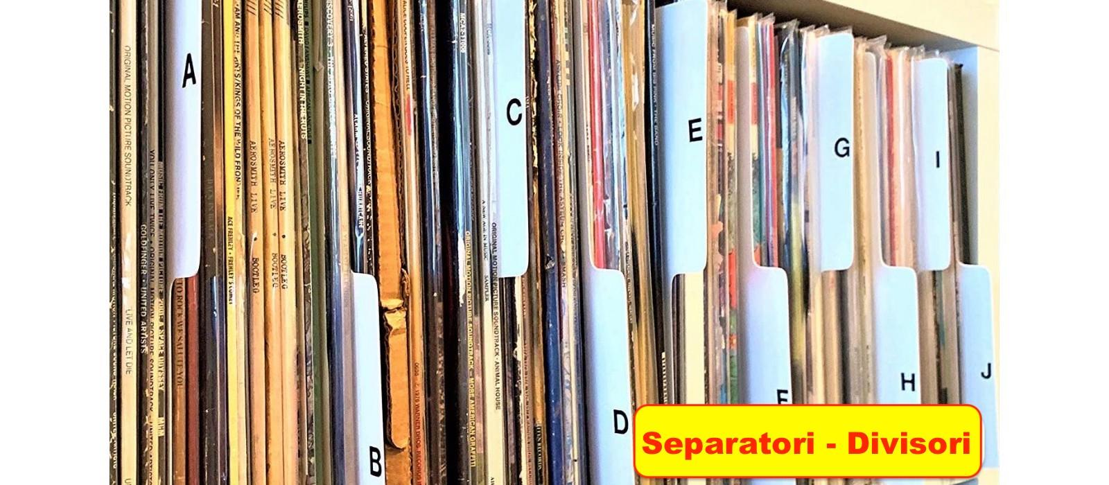 Separatori - Divisori x LP- CD