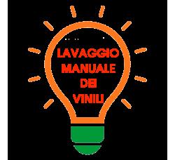 LAVAGGIO MANUALE DEI VINILI