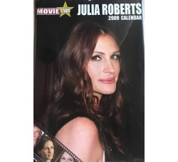 JULIA ROBERTS  - Calendario da collezione 2009 - Contiene 12 Stickers