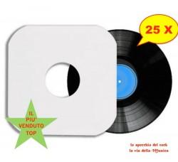 Manicotti ANTIGRAFFIO - ANTIMUFFA -  ANTISTATICI X LP  - Angoli SAGOMATI - Qtà 25