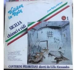 Canterini Peloritani – Diretti da Lillo Alessandro - LP/Vinile