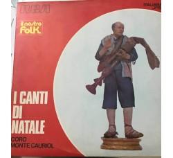 Coro Monte Cauriol – I Canti Di Natale - LP/Vinile Copertina Rossa -