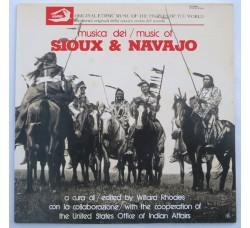 Artisti Vari – Sioux & Navajo - LP/Vinile
