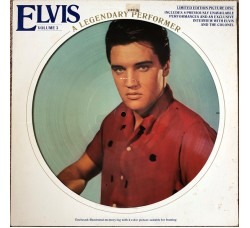 Elvis Presley ‎– A Legendary Performer - Volume 3 - LP/Picture disc limited