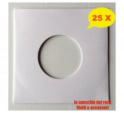 Copertine per dischi 45 giri - Antistatiche, Antigraffio, Antimuffa - Qtà 25