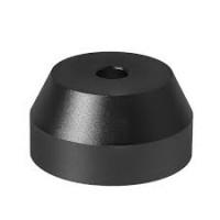 RW  - Adattatore Conico  in Alluminio per giradischi Colore NERO