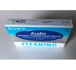 SONY - Cassetta di pulizia TESTINE Audio - Qtà 1