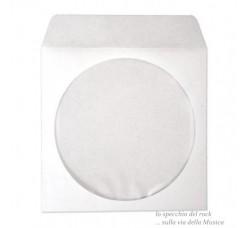 BUSTINE di carta ANTIGRAFFIO per CD-DVD - Chiusura Adesva - Qtà 50