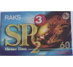 RAKS  - AudioCassette Position CROME - Minuti 60 - Qtà 3