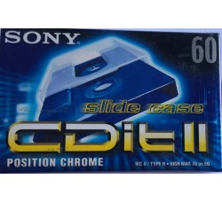 SONY - AudioCassette Position CROME - Minuti 60