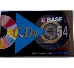 BASF   - AudioCassette MUSICASSETTA  Crome  - Minuti 54