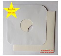 COPERTINE colore BIANCO + Manicotti DELUXE bianco SAGOMATO per MAX SINGLE  - Qtà 10+10