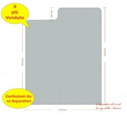 SEPARATORI  per CD  & BOX  JEWEL CASE - Colore BIANCO -  Mod Inglese - Qtà 10 Pz