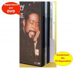SEPARATORI / DIVISORI  per DVD - Colore BIANCO  - Qtà 10 Separatori