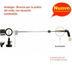 ANALOGIS - Braccio con spazzola SOSTITUIBILE - Peli di Capra e Fibre di Carbonio.
