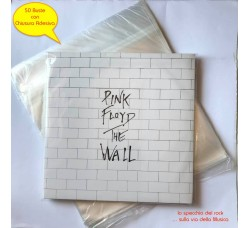 "BUSTE per dischi Vinili 12"" LP - DLP  (PPL MY 80) FLAP ADESIVO - Qtà 50 Pezzi"
